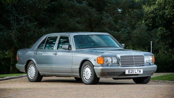 Mercedes S-Class короля Иордании продают за $30 тысяч