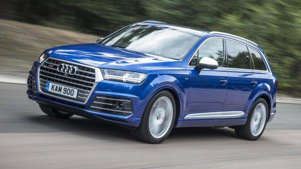 ����������� ����� �������� ����������: ����� Audi SQ7