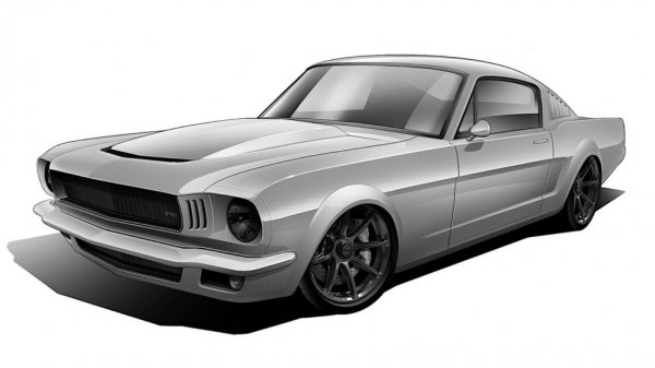 � ������������ Ford Mustang ��������� 785-������� �����