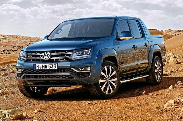 Немцы обновили свой пикап: Обзор Volkswagen Amarok 2016