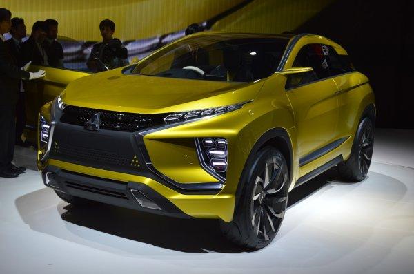Mitsubishi покажет концепт еХ на автосалоне в Лос-Анджелесе