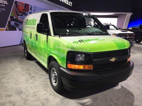 Chevrolet привез в Лос-Анджелес Express с новым двигателем