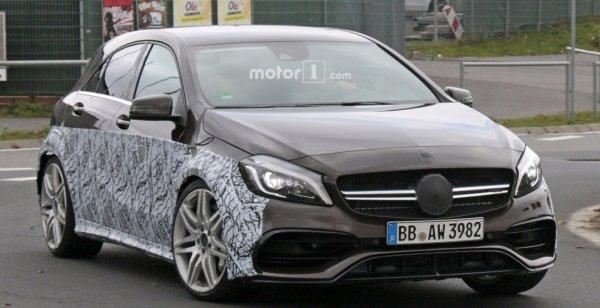 Mercedes-AMG начал тест-драйв «заряженной» модели A45