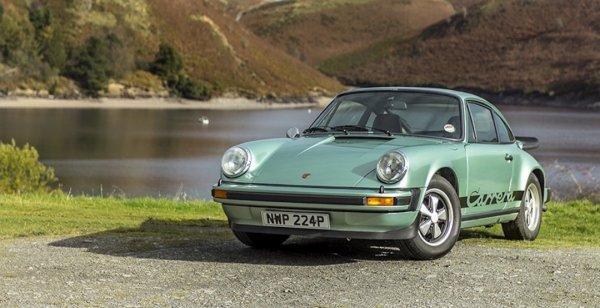 Восстановленный Porsche 911 Carrera 2.7 MFI уйдет с молотка