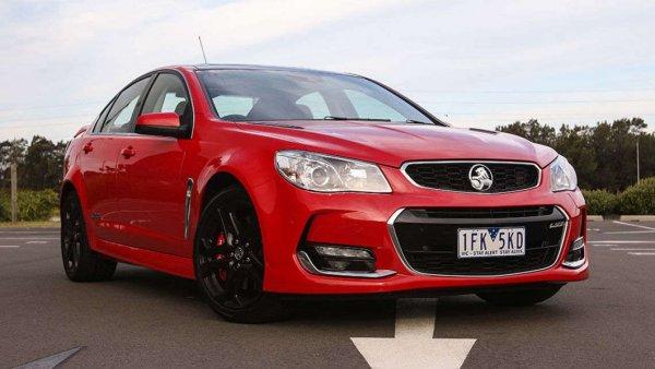 Вышел новый седан: Обзор VFII Holden Commodore SS-V Redline 2016