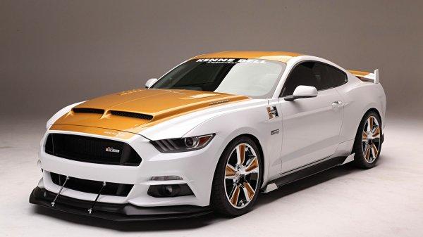 Ford выпустил лимитированную серию 1500-сильного Ford Mustang