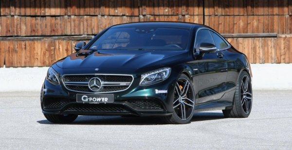 Купе Mercedes-AMG S63 стало еще мощнее