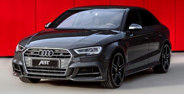 Audi S3 стал более мощным и стильным