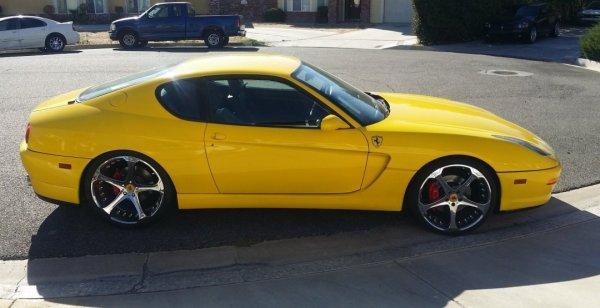 «Двойник» Ferrari 456M предложен по цене нового BMW M240i