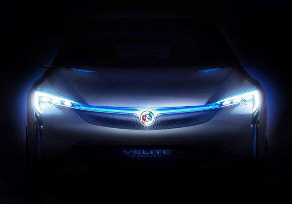 Buick выпустит гибридный концепт Velite вместе с SAIC