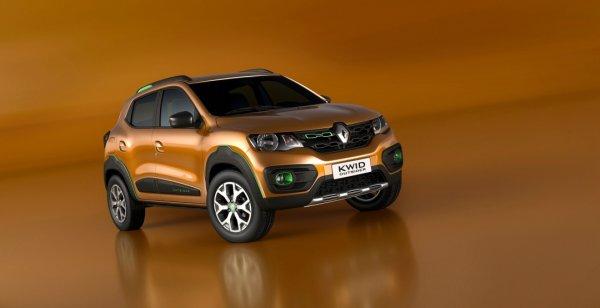 В Сан-Паулу дебютировал концептуальный Renault Kwid Outsider