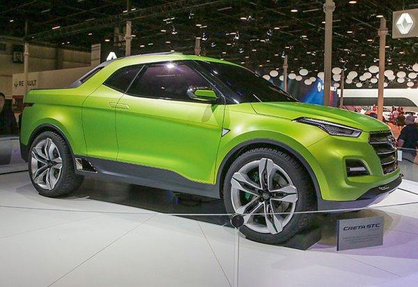 Из кроссовера Hyundai Creta сделали пикап STC