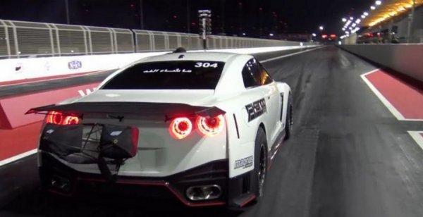 Модернизированный Nissan GT-R установил мировой рекорд