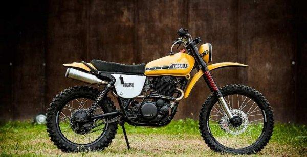 Ателье North East Custom выпустило скрэмблер Yamaha XT500