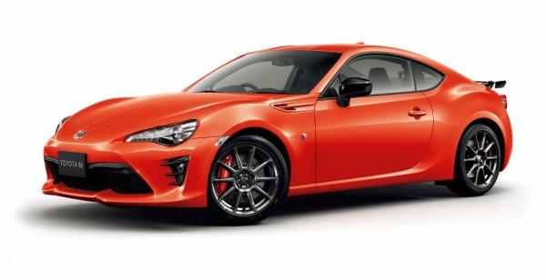 Toyota представила особое купе 86 GT Solar Orange Limited