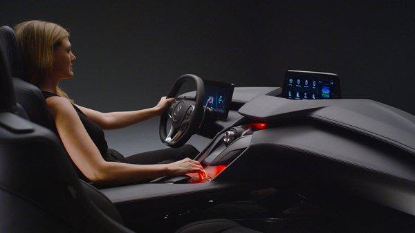 Бренд Acura показал автомобильный интерьер будущего