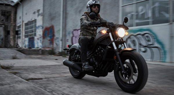 Компания Honda представила новые мотоциклы Honda Rebel
