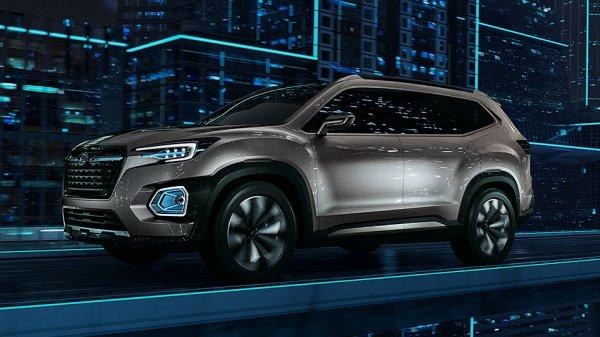 Subaru провела показ предвестника новой Tribeca