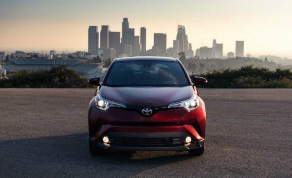 Представлена японская новинка: Обзор Toyota C-HR 2018