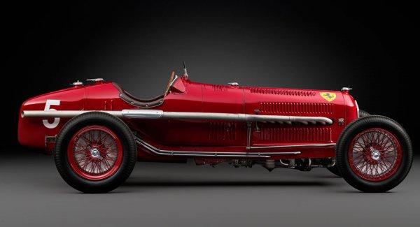 Раритетный Alfa Romeo Tipo B P3 Grand Prix уйдет с молотка за 3,6 млн евро