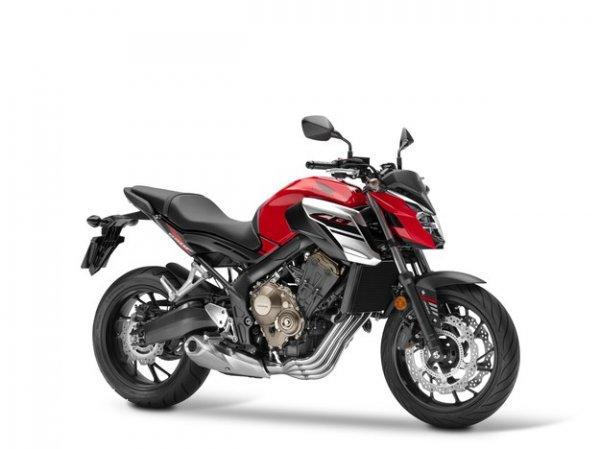 Мотоцикл Honda CB650F получил ещё более «оголённый» дизайн