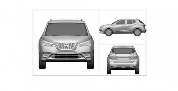 Рассекречен дизайн кроссовера Nissan Kicks для авторынка Китая