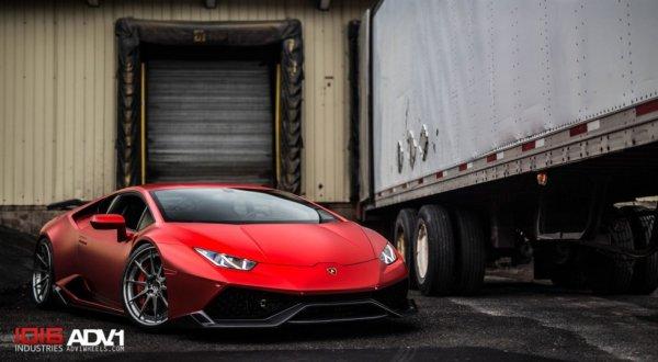 Lamborghini Huracan получил эксклюзивный тюнинг