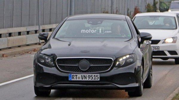 Mercedes-Benz E-class 2018 Coupe замечен на финальных испытаниях