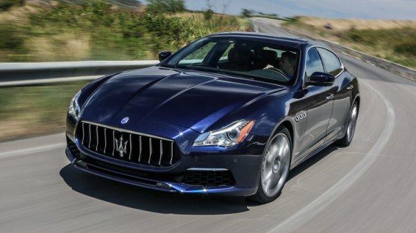 Вышел новый роскошный седан: Обзор Maserati Quattroporte 2017