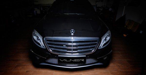 Флагман Mercedes-Benz S63 AMG получил уникальный интерьер