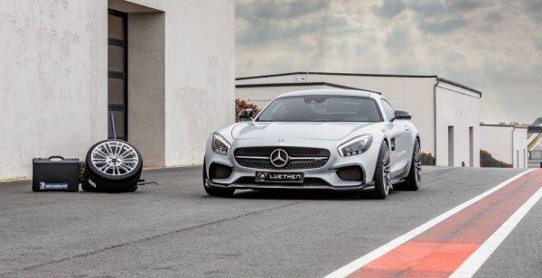 Ателье Luethen Motorsport улучшило купе Mercedes-AMG GT S