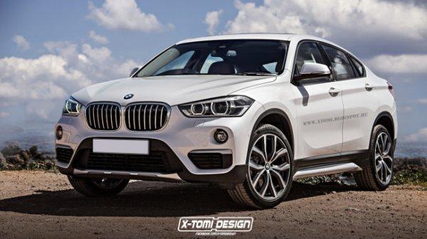 Серийная версия BMW X2 получит форму концепта