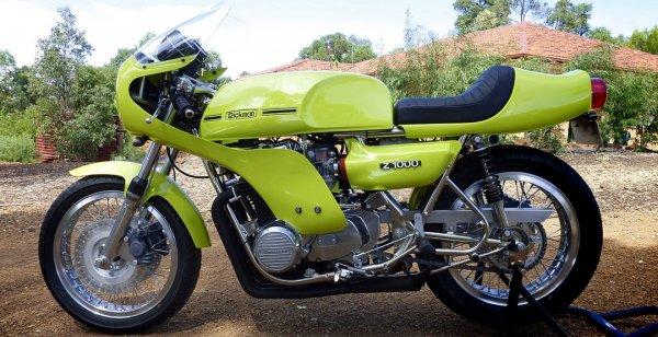 Мотоциклу Rickman Kawasaki CR-Z1000 подарили вторую жизнь
