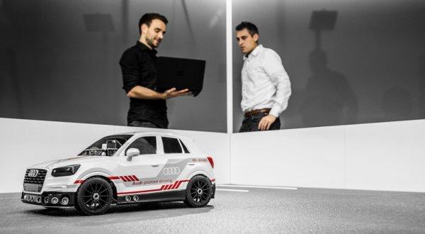 Audi показала «игрушечный» Q2 с искусственным интеллектом