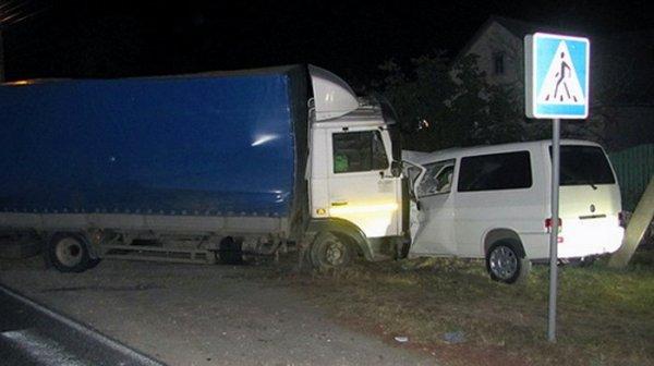 Два человека погибли в ДТП с грузовиком в Брянской области