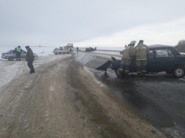 Девушка погибла в тройном ДТП в Мордовии