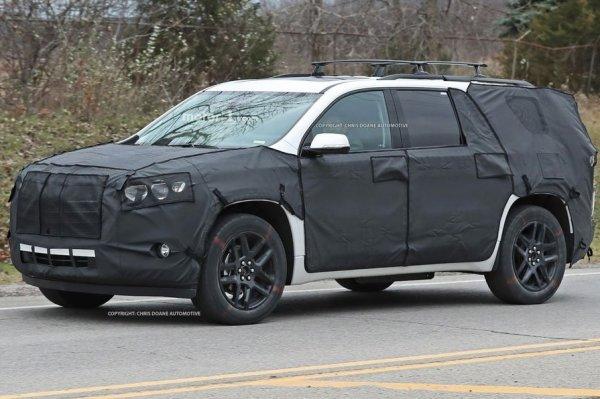 Chevrolet тестирует новый компактный кроссовер