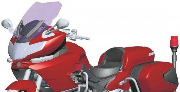 В Китае построят самый большой туристический мотоцикл QJiang