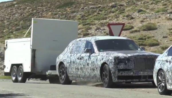 Новый Rolls-Royce Phantom начал проходить необычные испытания