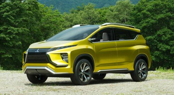 Кроссвэн Mitsubishi XM приступил к дорожным тестам