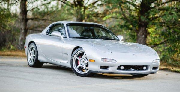 Mazda RX-7 с двигателем от Corvette оценена в 36 тысяч долларов