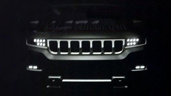 Дорогой внедорожник Jeep появится в продаже