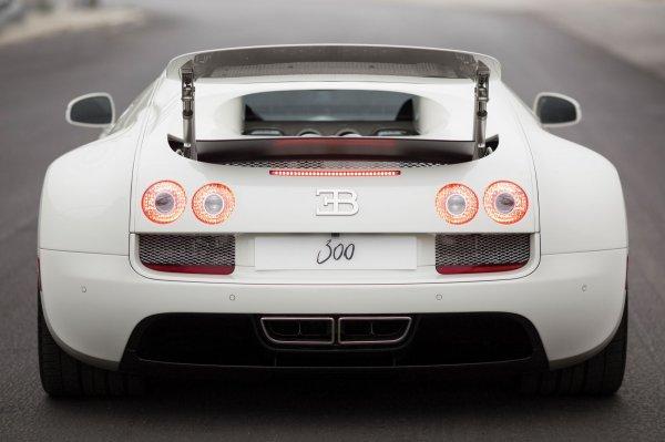 Последний Bugatti Veyron продадут на аукционе Sotheby's