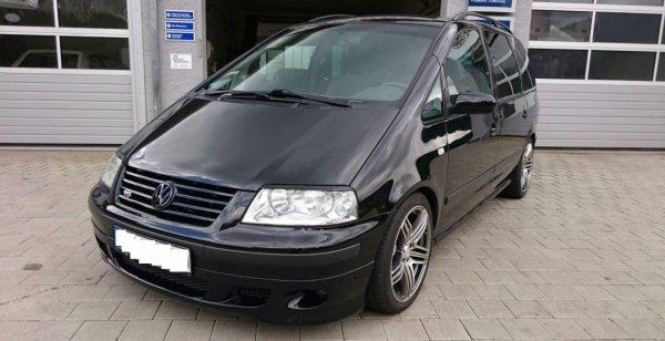 Volkswagen Sharan с 440-сильным двигателем выставлен на аукцион