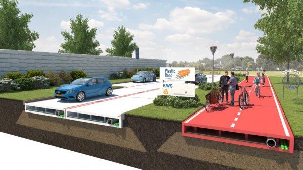 В Москве могут начать тестирование дорог из пластика