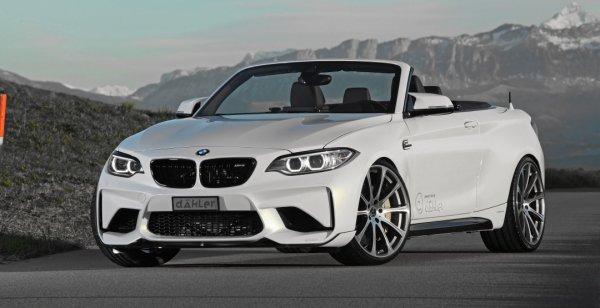 Немецкое тюнинг-ателье показало 419-сильный кабриолет BMW M2 Cabrio