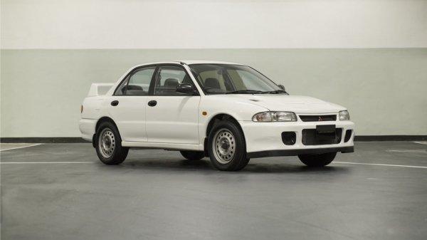 В США выставлен на продажу Mitsubishi Evo II в идеальном состоянии