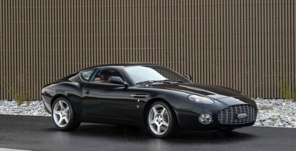 Купе DB7 Zagato и V12 Zagato будут проданы на аукционе в Париже