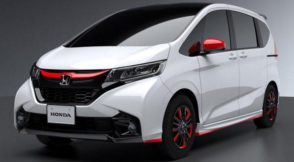 Honda представит кастомные версии минивэнов Freed и Step WGN