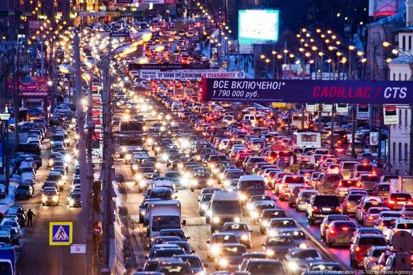 Водителей Москвы предупредили о риске ДТП из-за гололедицы